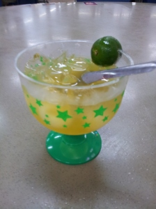 calamansi (lime juice)