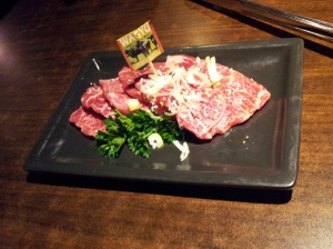 Japanese BBQ - Wagyu beef at Gyu Kaku